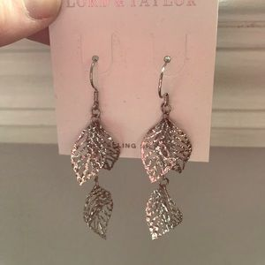 NWT Lord & Taylor Sterling Earrings